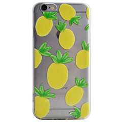 Pineapple Pattern High Permeability TPU Material Phone Case For iPhone 6s 6Plus SE 5S 5