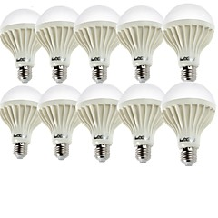 YouOKLight 10PCS E27 5W 400lm 3000K 9-SMD 5630 Warm White LED Bulb Lamp (220V)