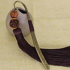 Pu Tizi Retro Metal Bookmark Tassel Original Chinese Style New Classical Elegant Gift Student