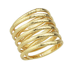 指輪 ファッション パーティー / 日常 ジュエリー 合金 女性 関節リング 1個,9 ゴールデン