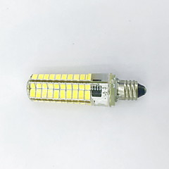 9W E11 LED-lampa T 80LED SMD 5730 600LM lm Varmvit / Kallvit Dekorativ AC 220-240 / AC 110-130 V 1 st