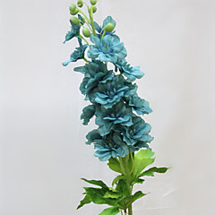 Set of 1 PCS 1 haara Polyesteri Ritarinkannukset / Päivänkakkarat Pöytäkukka Keinotekoinen Flowers 35.2