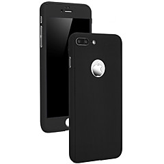 High Premium PC Full Body Cover with Tempered Glass Film Case for iPhone 7 7 Plus 6s 6 Plus SE 5s 5