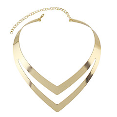 Necklace Collar Necklaces Jewelry Party / Daily / Casual Fashion / Bohemia Style / Personality Alloy Gold 1pc Gift