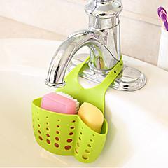 1Pc Hanging Drain Bag Basket Bath Storage Gadget Tools Sink Holder Sink Rack Receive Hanging Basket Kitchen Tools