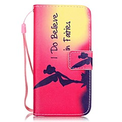 Mert iPhone 7 tok / iPhone 7 Plus tok / iPhone 6 tok Kártyatartó / Minta Case Teljes védelem Case Szexi lány Kemény Műbőr AppleiPhone 7