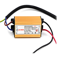 DIY IP66 Waterproof 10W 50/60Hz 900mA Output LED Driver (DC 7-12V)