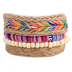 Unisex Fashion Jewelry Bohemia Style Handmade Adjustable Strand Loom Bracelet Casual/Daily Women Men Gift