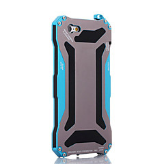 μεταλλικό μετασχηματιστή αδιάβροχο& dustproof& αντι-ξύστε πίσω θήκη για το iPhone 6s 6 συν se 5s 5