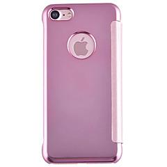 Mirror Plating Flip All-Inclusive Phone Case for iPhone 7 7plus 6S 6plus SE 5S