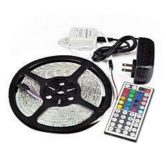 5M 44Key IR 5050 SMD RGB Flexible 300 LED Light Strip &Remote & 5APower(DC12V)
