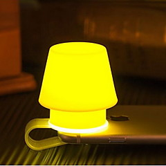 Creative Silicone Mobile Phone Holder Lamp Novelty Lamp Auxiliary Lighting Nightlight