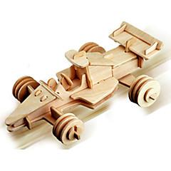 παζλ Ξύλινα παζλ Δομικά στοιχεία DIY παιχνίδια Αυτοκίνητο 1 Ξύλο Κρύσταλλο
