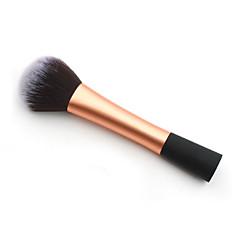 1 Blush Brush / Powder Brush Nylon Hair Professional / Portable Metal Face