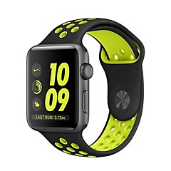 Silicone Sport Replacement Strap for Apple Watch 42mm 38mm