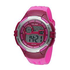 Kids' Sport Watch / Wrist watch Digital LED / Water Resistant/Water Proof Plastic BandVintage / Cartoon / Stripe / Heart shape / Candy