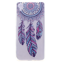 For Sony Xperia X Transparent Pattern Case Back Cover Case Dream Catcher Soft TPU Sony Xperia X
