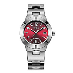 Women's Fashion Watch / Quartz Stainless Steel Band Casual Silver