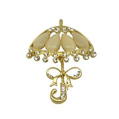 Damskie Broszki Chrismas Modny luksusowa biżuteria Cyrkon Cyrkonia Imitacja diamentu Biżuteria Na Codzienny Casual Prezenty