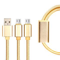 Micro USB 3.0 Kręcone Kable Na Samsung / Huawei / Sony / Nokia / HTC / Motorola / LG / Lenovo / Xiaomi 14*5*1 cm Nylon