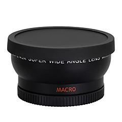 58mm 0.45x vidvinkel linse makrolinse for kanon 350d / 400d / 450d / 500d / 1000d / 550D / 600D / 1100D DSLR-kamera