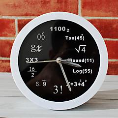 폴리 테크닉 수학 수학 식 탁상 시계 데스크 알람 시계 탁상 시계 창조적 인 가정 장식 패션 음소거 시계
