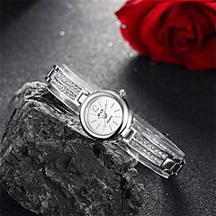 Women's Dress Watch Fashion Watch Bracelet Watch Quartz Water Resistant Water Proof Alloy Band Charm Casual Silver Brand
