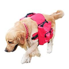 Cachorro Pacote de cão Animais de Estimação Transportadores Portátil Sólido Preto Vermelho Azul Rosa claro Cor camuflagem