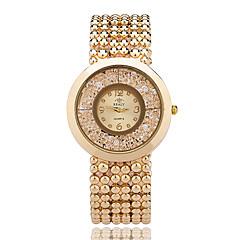 Dames Modieus horloge Polshorloge Kwarts / Legering Band Cool Vrijetijdsschoenen Elegante horloges Zilver Goud Goud Rose