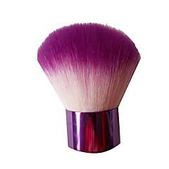 1 Powder Brush Synthetic Hair Portable Metal Face NFSS