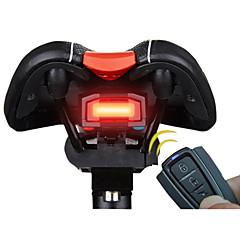 Achterlicht fiets LED Wielrennen Afstandsbediening / Super Light / alarm / Smart Lithium Batterij 100 Lumens Batterij Rood Fietsen