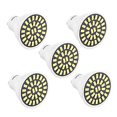 YWXLight 5Pcs High Bright 7W GU10 LED Spotlight 32 SMD 5733 500-700 lm Warm White / Cool White AC 110V/ AC 220V