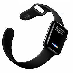 Sport horlogeband voor appelwatch serie 1 2 38mm 42mm rubber vervangende band armband