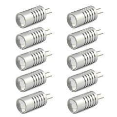 2W G4 LED-lamper med G-sokkel T 1 Højeffekts-LED 190 lm Varm hvid / Kold hvid DC 12 V 10 stk.