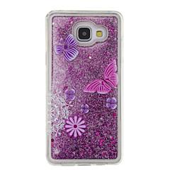 Voor Samsung Galaxy A5 (2016) a3 (2016) vloeibaar vloeibaar patroon behuizing back cover case glitter shine soft tpu