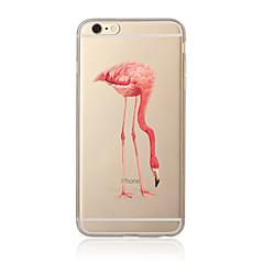 Na Przezroczyste / Wzór Kılıf Etui na tył Kılıf Wzór zwierzęcy Miękkie TPU na AppleiPhone 7 Plus / iPhone 7 / iPhone 6s Plus/6 Plus /