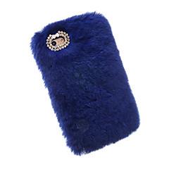 Voor Strass hoesje Achterkantje hoesje Effen kleur Zacht Textiel Apple iPhone 7 Plus / iPhone 7 / iPhone 6s Plus/6 Plus / iPhone 6s/6