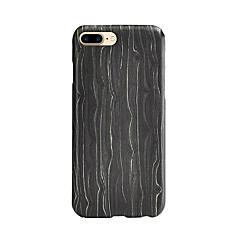 Voor Schokbestendig hoesje Achterkantje hoesje Lijnen / golven Hard Hout voor AppleiPhone 7 Plus / iPhone 7 / iPhone 6s Plus/6 Plus /