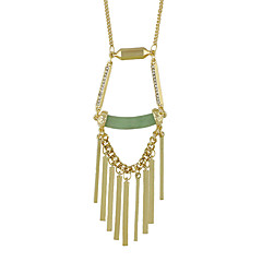 New Model Gold Color Spike Long Pendant Necklace for Women