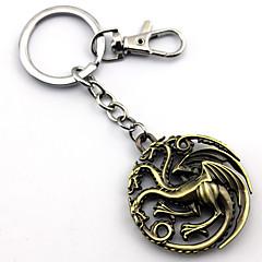 Mehre Accessoires Inspiriert von Game of Thrones Cosplay Anime Cosplay Accessoires Schlüsselanhänger Gold Legierung