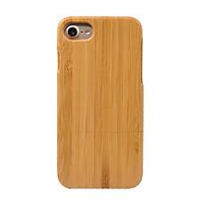 Mert Porálló Case Hátlap Case Egyszínű Kemény Bambusz mert AppleiPhone 7 Plus / iPhone 7 / iPhone 6s Plus/6 Plus / iPhone 6s/6 / iPhone