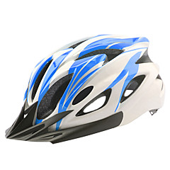 Dame / Herre / Unisex Cykel Hjelm 23 Ventiler Cykling Cykling / Bjerg Cykling / Vej Cykling / Rekreativ Cykling En størrelse PC / EPSHvid