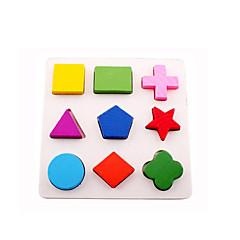 Jigsaw Puzzles 3D Puzzles Building Blocks DIY Toys Wood Rainbow