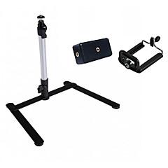 support de table stand mini-trépied léger pour appareil photo numérique AMP; caméscope avec deux pince