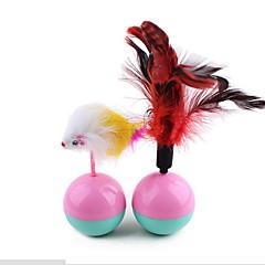 고양이 장난감 반려동물 장난감 인터렉티브 깃털 장난감 텀블러 마우스