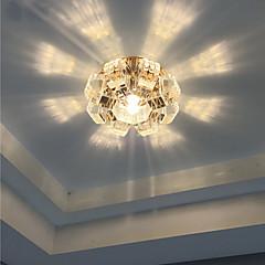 Elegant Crystal Recessed Downlight for Foyer Decoration