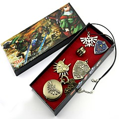 Klok/Horloge / Insigne / Meer Accessoires geinspireerd door The Legend of Zelda Link Anime Cosplay AccessoiresKettingen / Insigne /