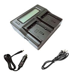 ismartdigi vbn130 260 lcd kettős töltő autós töltő kábel Panasonic vbn130 260 kamera batterys