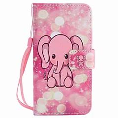 Do motorola moto g4 play g4 pokrowiec na różowo słonie lakierowane pudełko na telefon