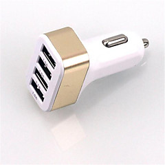 Multi Ports Bil Oplader Other 4 USB porte Oplader Kun For Cellphone(5V , 5.1A)
